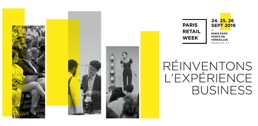 Key visual Paris Retail Week 2019