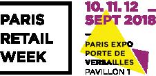 Bloc logo Paris Retail Week 2018 FR