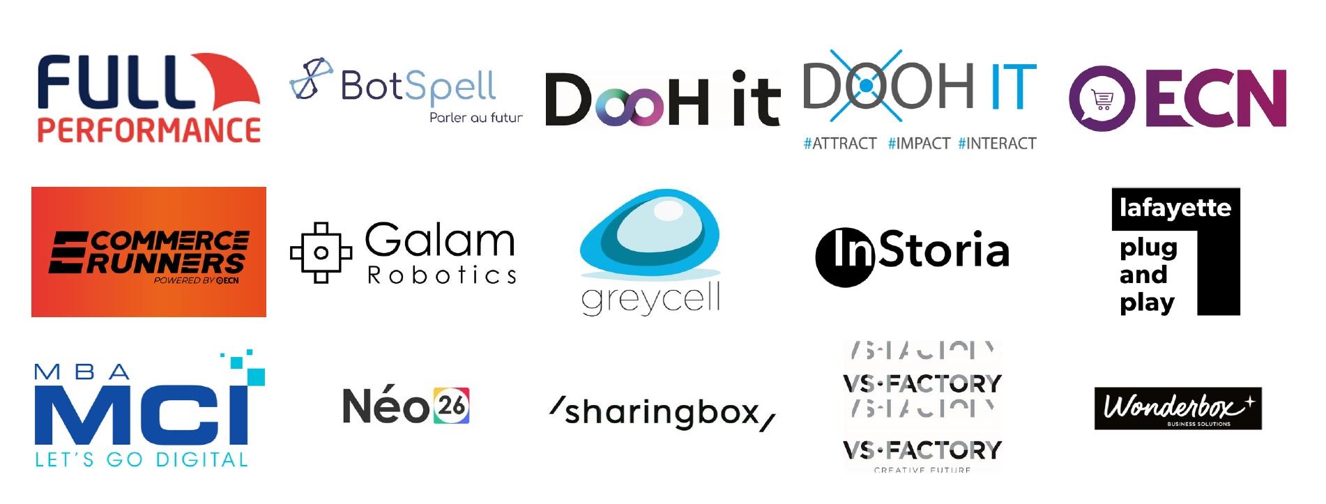 Logos de nos Partenaires Animation et technique